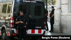 Поліція патрулює в Барселоні після нападу на Ла Рамблі, 18 серпня 2017 року