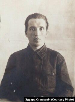 Вайсковы лекар Рыгор Сташкевіч