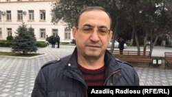 Azerbaijani oppositionist Mammad Ibrahim (file photo)