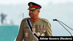 FILE: Pakistani Army Chief of Staff General Qamar Javed Bajwa.