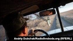 Український військовий біля Богданівки Донецької області, вересень 2019 року