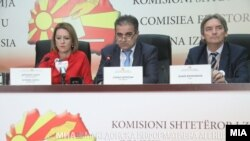 Прес-конференција на ДИК