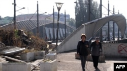 Mitrovica, o localitate devizată etnic