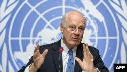 استفان دی میستورا، نماینده ویژه سازمان ملل برای حل و فصل بحران سوریه