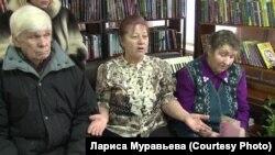 Жители села Гусево