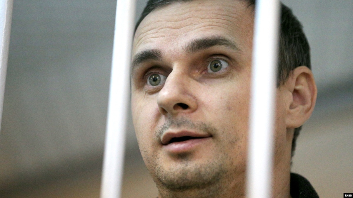 'Release Sentsov' Banner Displayed In Moscow Amid Reports Hunger Striker...