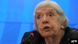 "Veteran rights activist Lyudmila Alekseyeva has said the new law is ""absurd."""