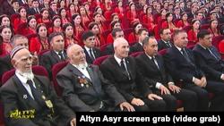 Чествование ветеранов Второй мировой войны в Туркменистане, 2018 год.