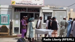 A hospital in Uruzgan Province in July