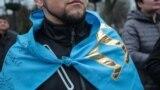 Акция солидарности с украинским Крымом в Киеве, иллюстрационное фото