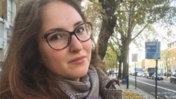"""Alena Fedotova is studying for a master's degree in communications in London: """"I don't sense any negativity stemming from the fact that I am from Russia."""""""