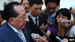 هور نامهونگ، وزیر امور خارجه کامبوج