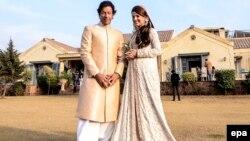 Imran Khan we Reham Khan. Ýanwar, 2015 ý.