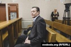 Уладзімер Краўчонак у судзе 4 студзеня 2019 году