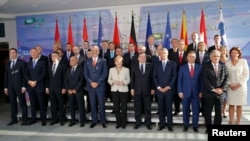 "Berlin, učesnici konferencije ""Zapadni Balkan"""