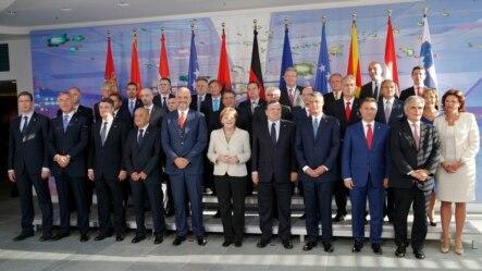 Lideri na Konferenciji u Berlinu 28. avgusta 2014.