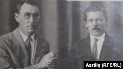 Гыйбадулла Алпаров – хәзерге татар грамматикасына нигез салучыларның берсе (с) һәм Галимҗан Ибраһимов