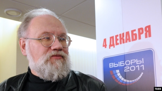 The chairman of Russia's Central Election Commission, Vladimir Churov