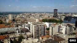 Pamje e një pjese të Beogradit