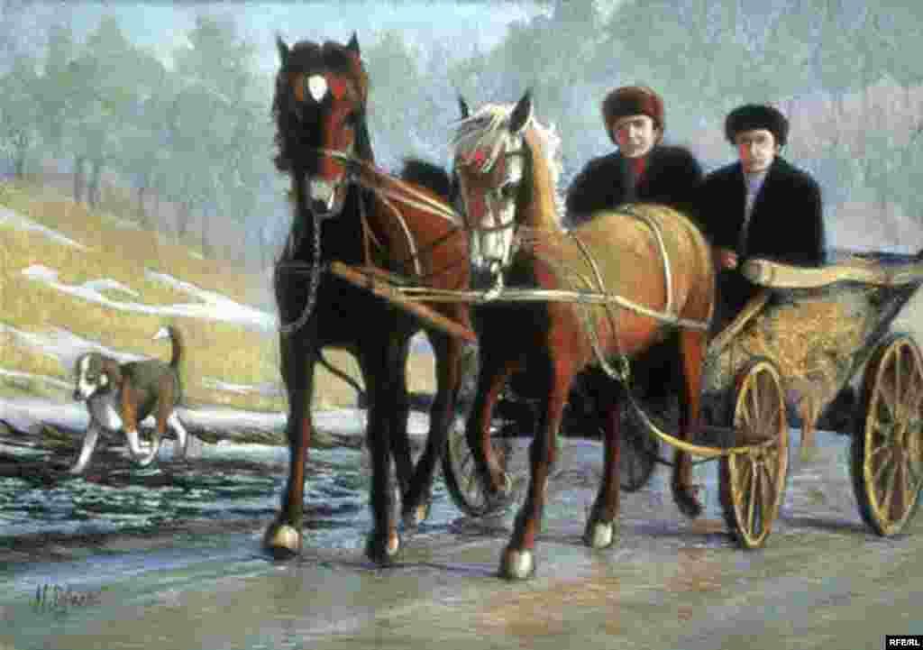 Moldova în 1992/Expozitie de Margot Schulzke #1