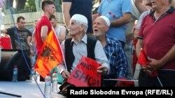 Антивладин протест на Беса, јули, 2015.