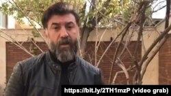 Former Iranian soccer international Ali Ansarian is now a TV sportscaster.
