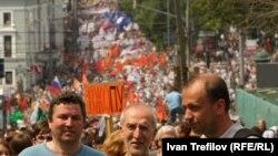 Під час попереднього «маршу мільйонів» у Москві 12 червня 2012 року
