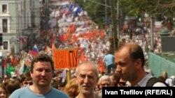 Під час одного з попередніх «Маршів мільйонів» у Москві, фото 12 червня 2012 року