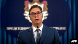 """""""Nije bilo lako"""", konstatovao Vučić nakon sastanka sa sto poslanika na listi Srpske napredne stranke"""