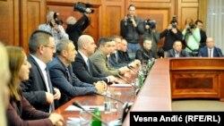 U saopštenju se navodi i da će Mirjana Jevtić napustiti ministarstvo lokalne samouprave