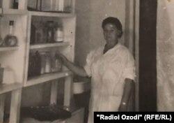 Леокадия Ковтун солҳо дар идораи Геологияи Тоҷик кор кардааст