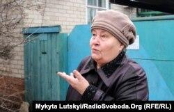 Галина Федоровна, жительница Славянска
