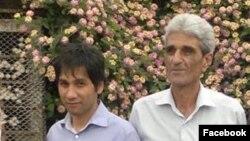 علی محمد جهانگیری (راست) و شاپور رشنو
