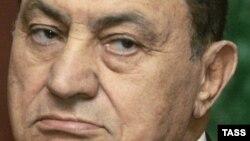 Ish-presidenti i Egjiptit, Hosni Mubarak.