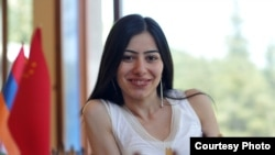 Armenia - young chess-player Lilit Mkrtchyan