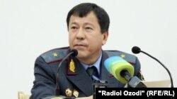 Рамазон Раҳимов, вазири умури дохилии Тоҷикистон