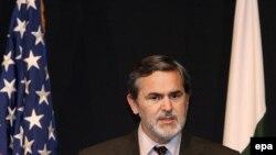 آقای بوچر می گوید که سازمان همکاری شانگهای یک پیمان ورشو نیست. ( عکس: EPA)