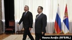 Dmitrij Rogozin i Ivica Dačić, Beograd