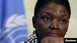 UN Under-Secretary-General for Humanitarian Affairs and Emergency Relief Coordinator Valerie Amos (file Photo)