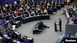 Германия парламентинин армян резолюциясы боюнча жыйыны. 2-июнь, 2016-жыл.