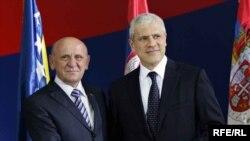 Sulejman Tihić i Boris Tadić, 15. jun 2010. Foto: Saša Čolić
