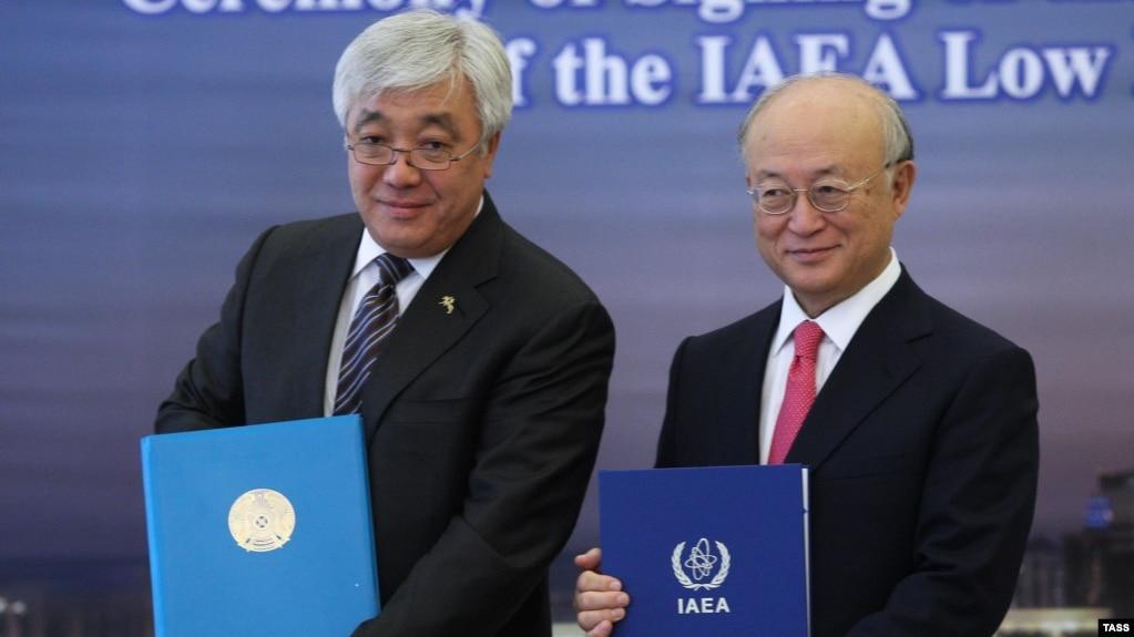 IAEA opens world's first low Enriched Uranium bank in Kazakhstan