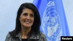 نیکی هیلی، نماینده آمریکا در سازمان ملل متحد،