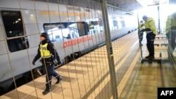 Ограждение на вокзале шведского города Мальмё. Иллюстративное фото.