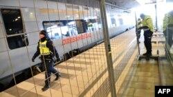 На одному з вокзалів у місті Мальме на півдні Швеції, що через протоку Ересунн від Данії, відокремлюють парканом міжнародну частину, 4 січня 2016 року