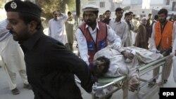 انفجار روز جمعه در ساختمان سازمان اطلاعات و امنیت پاکستان در پیشاور.