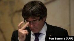 Глава правительства Каталонии Карлес Пучдемон