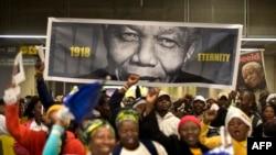 Johanesburg, 10 dhjetor 2013.