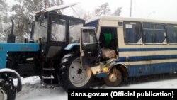 ДТП трапилася вдень 22 грудня на дорозі Київ – Обухів