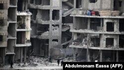 حومه شرقی دمشق؛ ۲۵ فوریه